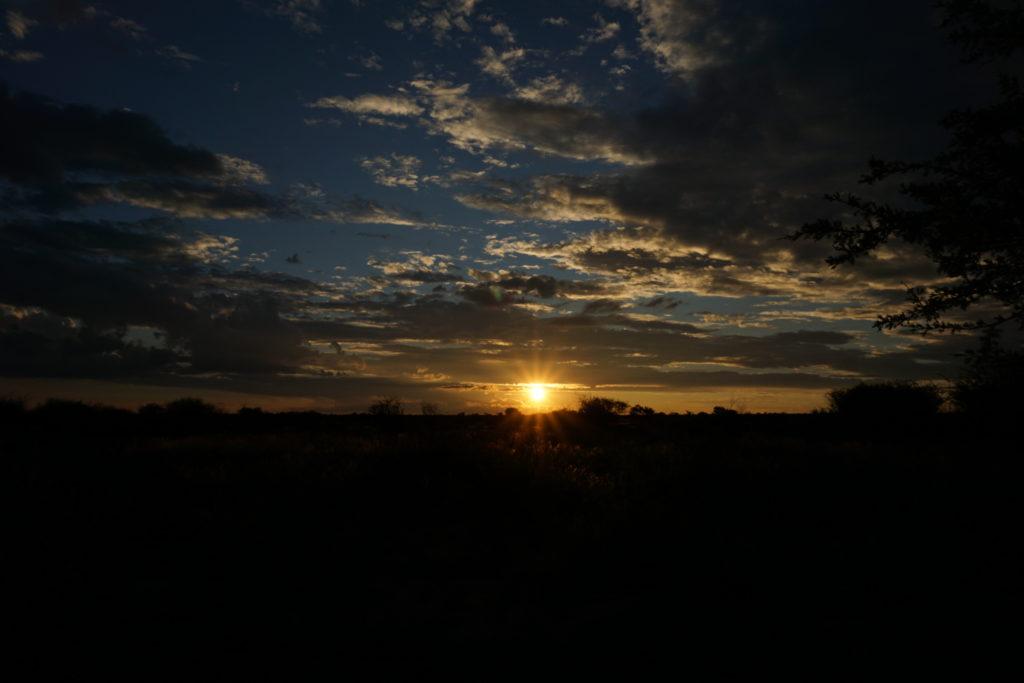 Sunset Kalahari