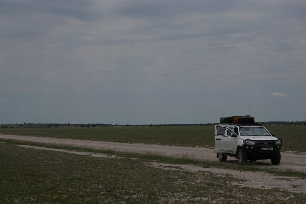 Hilux Camper Van Central Kalahari NP © badenduo.de