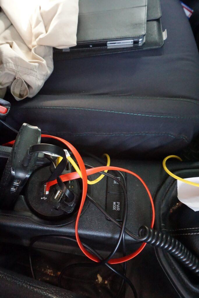 4x4 Stromversorgung Micro-USB Auto © badenduo.de