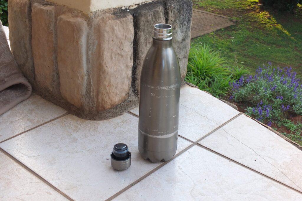 Equipment:Isolierflasche Edelstahl Kaufmann © badenduo.de