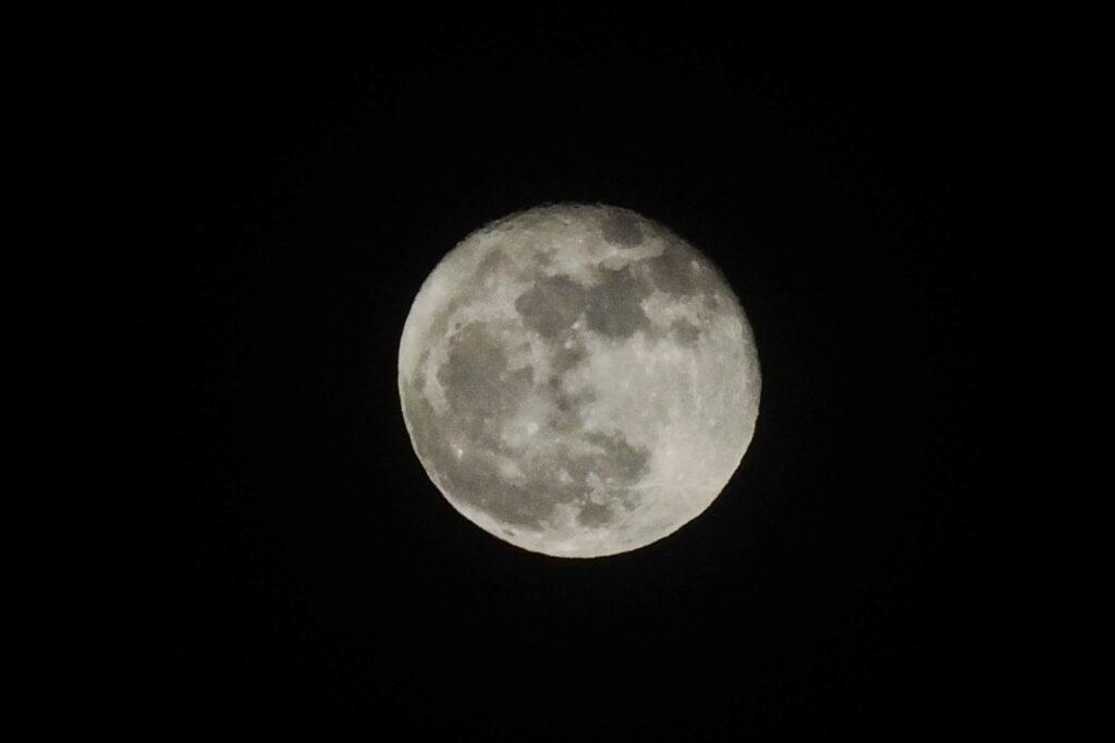 Mond Kalahari © badenduo.de