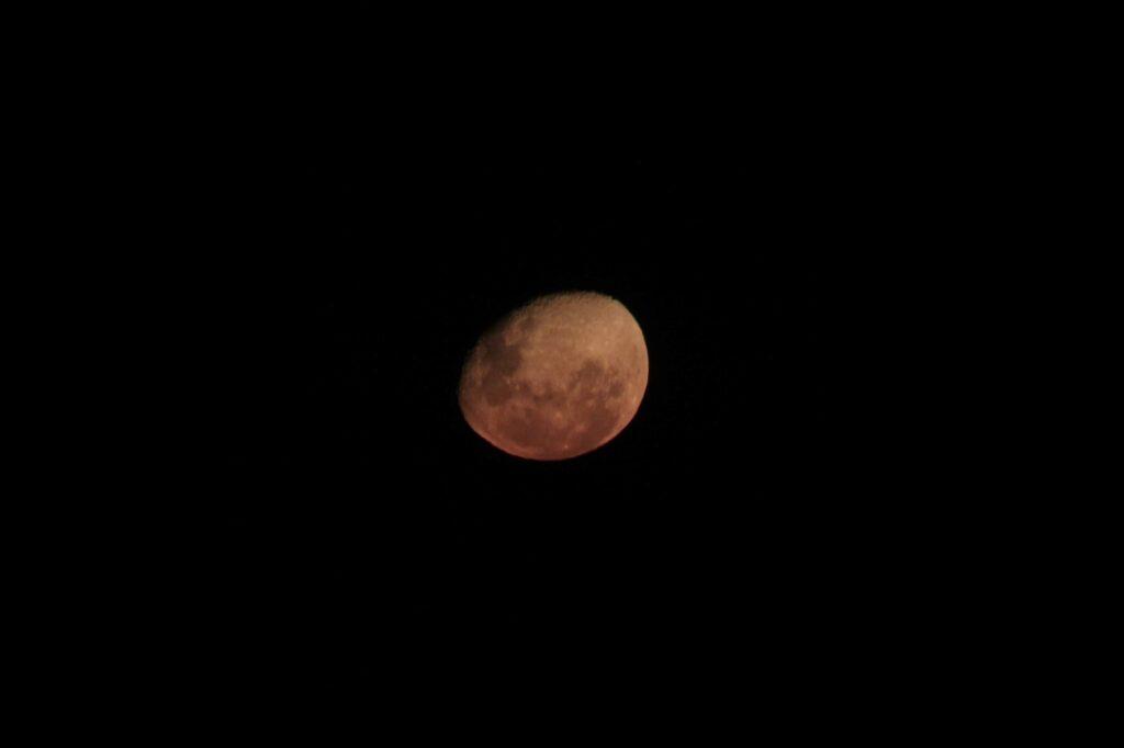 Mond Himmel Kalahari © badenduo.de