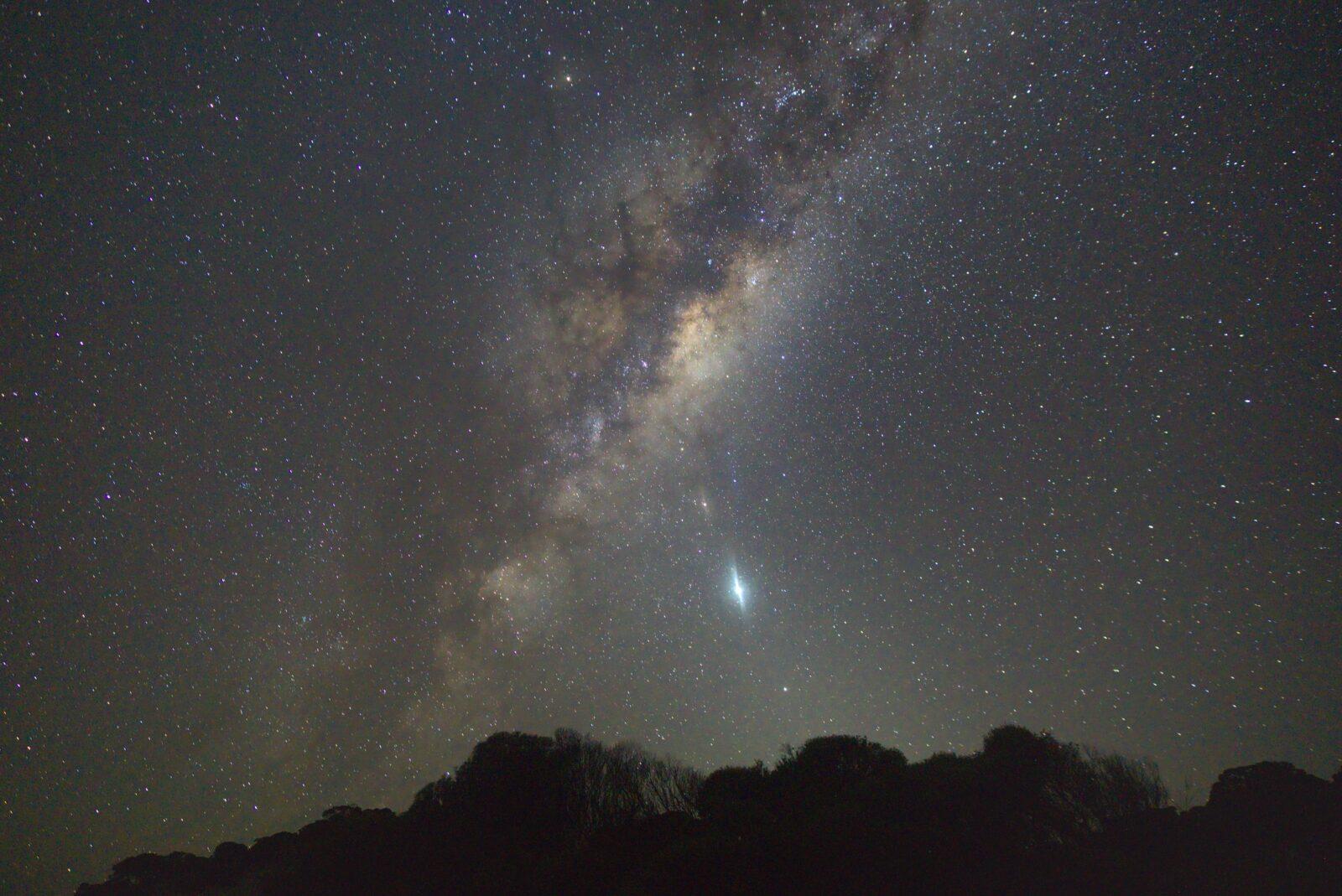 bright Sky über Australiens Südküste 1