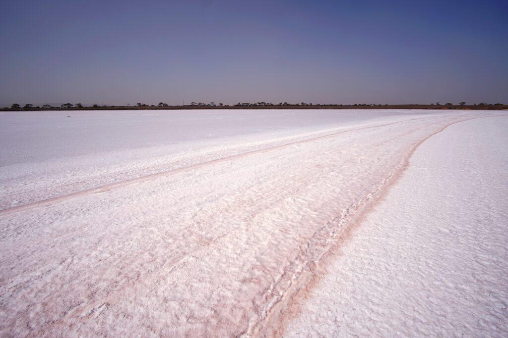 Bumbunga Pink Salt sea